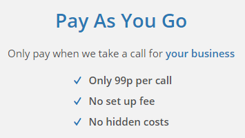 Pay As You Go Call Answering